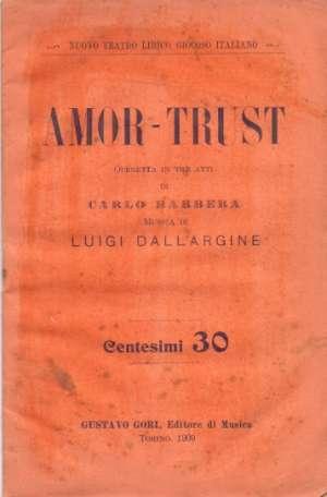 Amor-trust Carlo Barbera meki uvez