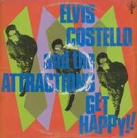 Gramofonska ploča Elvis Costello And The Attractions Get Happy!! WEA 58114, stanje ploče je 9/10
