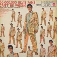 Gramofonska ploča Elvis Presley Elvis' Gold Records, Vol. 2 (50,000,000 Elvis Fans Can't Be Wrong) LSP 2075, stanje ploče je 7/10