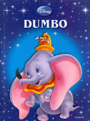 Dumbo Walt Disney Slikovnica tvrdi uvez