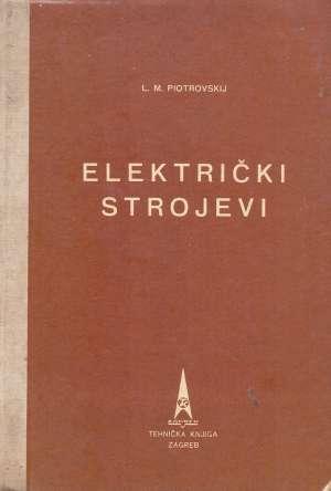 L. M. Piotrovskij - Električki strojevi