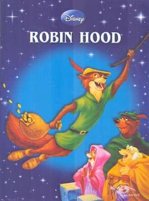 Robin Hood Walt Disney Slikovnica tvrdi uvez