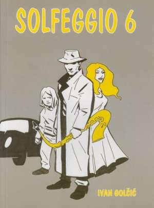 Solfeggio 6 - udžbenik za 6. razred solfeggia za osnovne škole Ivan Golčić meki uvez