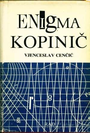 Enigma kopinič 1-2 Vjenceslav Cenčić tvrdi uvez