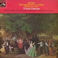 Gramofonska ploča Dvorak Violin Concerto In A Minor / Romance In F Minor LSHMV 70815, stanje ploče je 10/10