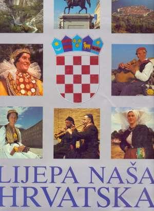 Lijepa naša Hrvatska G.a. tvrdi uvez