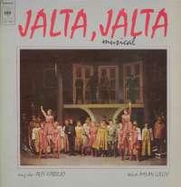 Gramofonska ploča Alfi Kabiljo / Milan Grgić Jalta, Jalta CBS 70131, stanje ploče je 7/10