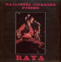 Gramofonska ploča Raya Najljepše Ciganske Pjesme LP 1160, stanje ploče je 10/10