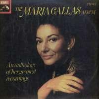 Gramofonska ploča Maria Callas The Maria Callas Album - An Anthology Of Her Greatest Recordings LSHMV-75081/2, stanje ploče je 10/10