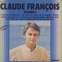 Gramofonska ploča Claude François Volume 3 6886 162, stanje ploče je 7/10