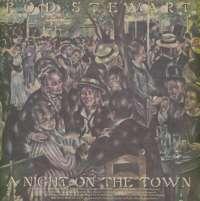 Gramofonska ploča Rod Stewart A Night On The Town W 56234, stanje ploče je 9/10