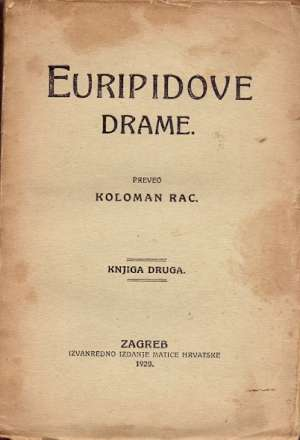 Euripidove drame 1-2 Euripid meki uvez