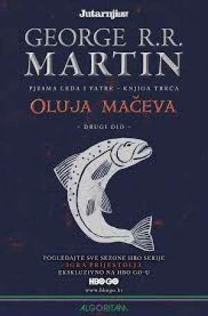 Oluja mačeva 1-3, Pjesma leda i vatre - knjiga treća Martin George R. R. meki uvez