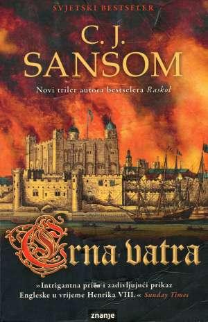 Crna vatra Sansom C. J. meki uvez