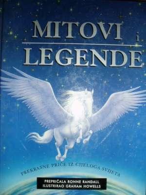 Mitovi i legende - prekrasne priče iz cijeloga svijeta Ronne Randall (prepričala) tvrdi uvez