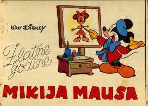 Zlatne godine mikija mausa Walt Disney tvrdi uvez