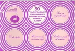 Krešimir Filipčić, Milenko Parabućski /priredio - 50 najpopularnijih starogradskih i narodnih pjesama, romansi i šlagera - album VI