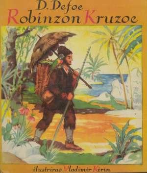 Robinzon Kruzoe Ilustrirao Vladimir Kirin, Priredio Gustav Krklec meki uvez