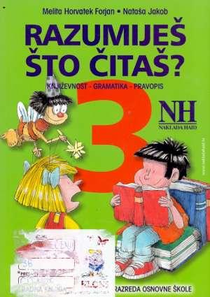 Razumiješ što čitaš 3 Melita Horvatek Forjan, Nataša Jakob meki uvez