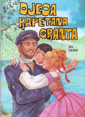 Djeca kapetana Granta Verne Jules tvrdi uvez