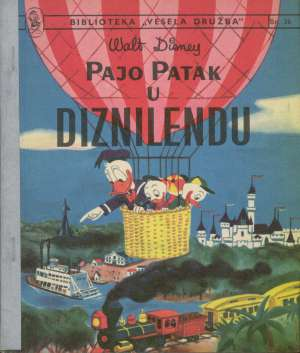 Pajo patak u diznilendu Walt Disney meki uvez
