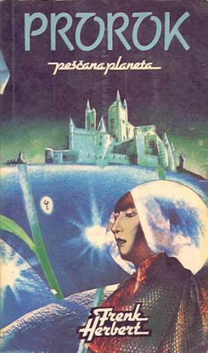 Prorok - peščana planeta Herbert Frank meki uvez