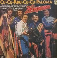 Gramofonska ploča Los Paraguayos Cu-Cu-Rru-Cu-Cu Paloma 2 LP 5723/5724, stanje ploče je 8/10