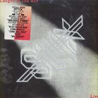 Gramofonska ploča Styx Caught In The Act Live 3220141, stanje ploče je 10/10
