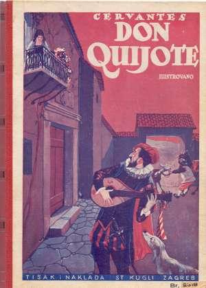 Cervantes  Saavedre Miguel De - Don Quijote od Manche