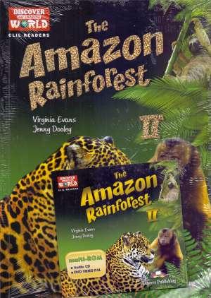 The Amazon Rainforest II + DVD - novo Virginia Evans, Jenny Dooley meki uvez