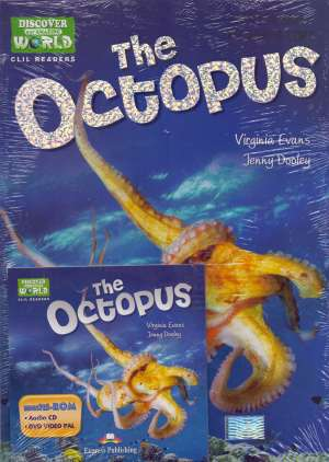 The octopus + DVD - novo Virginia Evans, Jenny Dooley meki uvez