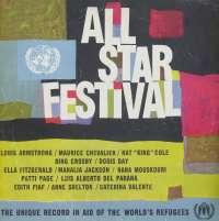 Gramofonska ploča All Star Festival Bing Crosby And Louis Armstrong / Doris Day / Nana Mouskouri... 99500 DL, stanje ploče je 7/10