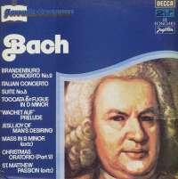 Gramofonska ploča Johann Sebastian Bach Favourite Composers - Bach (Omiljeli Skladatelji:Bach) LSDC 75055/6, stanje ploče je 10/10