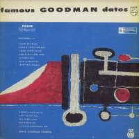 Gramofonska ploča Benny Goodman Combos Famous Goodman Dates (Čuveni Snimci Beni Gudmena) LPV 4316, stanje ploče je 7/10