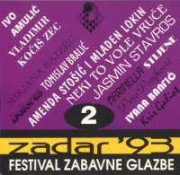Zadar 93 (2) - festival zabavne glazbe Razni Izvođači D uvez