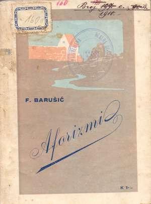 Aforizmi Barušić F. meki uvez