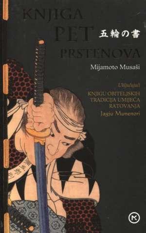 Knjiga pet prstenova Mijamoto Musaši meki uvez