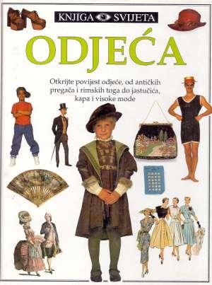 Odjeća - knjiga svijeta Dorling Kindersley tvrdi uvez