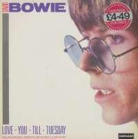 Gramofonska ploča David Bowie Love You Till Tuesday 820 083-1, stanje ploče je 10/10