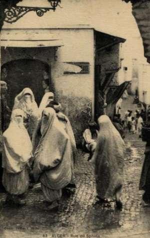Dopisnice - Alger - Rue du Sphinx
