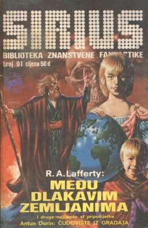 Sirius 91 - biblioteka znanstvene fantastike Lafferty, Mahn, Lavrek, Niven... meki uvez