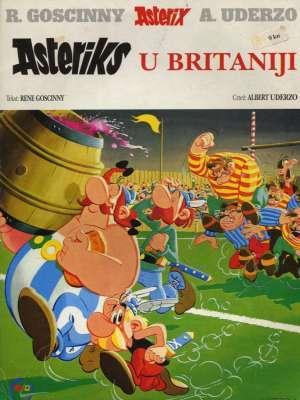 Asteriks u britaniji Uderzo, Goscinny meki uvez