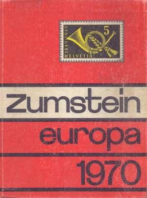 Zumstein - Europa 1970 G.a. tvrdi uvez