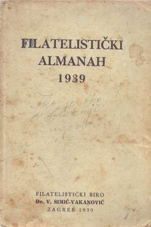 Filatelistički almanah 1939 G.a. meki uvez