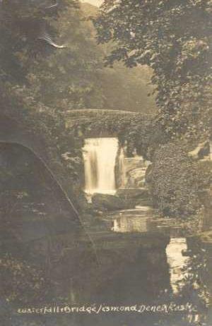 Fotografije - Waterfall bridge - Denew castle