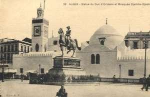 Alger - Statue du duc d orleans et mosquee djemaa djedid Ostatak svijeta