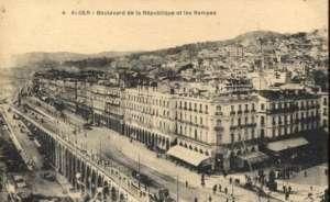 Alger - boulevard de la republique et les rempes Ostatak svijeta