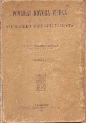 Stjepan Srkulj - Povijest novog vijeka - za VII. razred srednjih učilišta