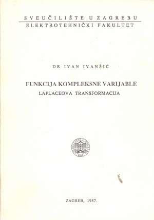 Ivan Ivanšić - Funkcija kompleksne varijable - Laplaceova transformacija