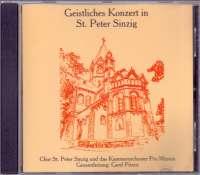 Geistliches konzert in st. peter sinzing Chor St. Peter Sinzig D uvez